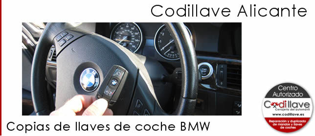 copia llaves coche bmw codillave alicante